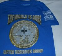 Lifted Research Group LRG X No Limit Records Men's T Shirt Size Small S