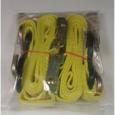 """EMGO Pair of Webbed Straps 1600lb Strength 5ft 6"""" L0ng"""