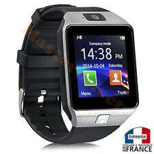 Smartwatch montre connectée avec téléphone bluetooth carte puce sim microsd