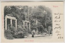 USA postcard - Ruins of Temple, Virginia - P/U 1903