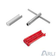 Sat Montage Set Werkzeug Abisolierer Aufdrehhilfe Knebel Kabel F Stecker Aufdreh