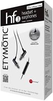 Etymotic Research ER23-HF3-BLACK HF3 In-Ear Headset with 3-Button Remote F/S