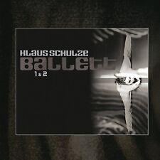 KLAUS SCHULZE - BALLETT 1 & 2  2 CD NEU