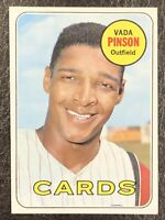 1969 Topps Vada Pinson #160 NM-MT Very Nice St. Louis Cardinals
