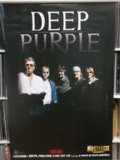 Deep Purple    118cm X 78cm   European Tour Poster