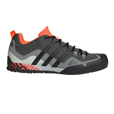 adidas Mens Terrex Swift Solo Walking Shoes Grey Sports Outdoors Breathable