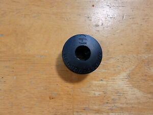 """Tange 1"""" Bicycle Bike Headset Stem Top Cap 1 Inch Black Vintage Plastic"""