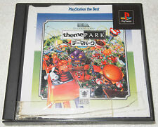 Theme Park Japan Import Video Game Playstation 1 PS1 EA