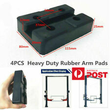 4xRectangle Rubber Arm Pads Car Lift Accessories For Auto Truck Hoist Heavy Duty