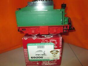 LGB 69206 Green Power Tender G Scale Train in Original Box