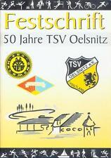 Festschrift 50 Jahre TSV Oelsnitz Vogtland Sachsen Fußball DFB neuwertig