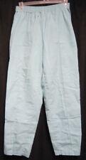 Large Crest Scrub Bottoms Pants Aqua style 292 Elastic Waist