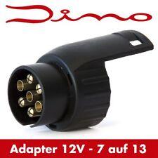Dino Adapterstecker - 7 auf 13 polig - Anhängeradapter Kurzadapter - 12V