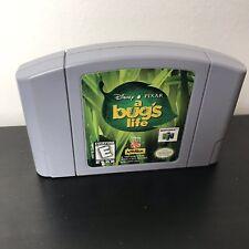 Disney's Pixar A Bug's Life (Nintendo 64, 1999) N64 OEM Authentic Video Game