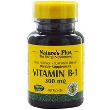 Vitamin B-1, 300 mg, 90 Tablets - Nature's Plus