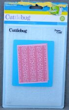 "New listing Cuttlebug Holly Ribbons Christmas Embossing Folder Nip Provo Craft 5 X 7"""