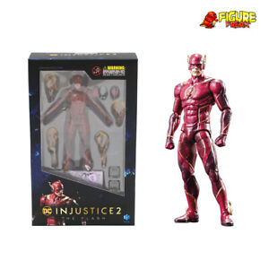 """Hiya Toys DC Comics Injustice 2 The Flash 3.75"""" Action Figure (1:18 Scale)"""