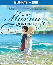 WHEN MARNIE WAS THERE (Anime)  -  Blu Ray - Sealed Region A