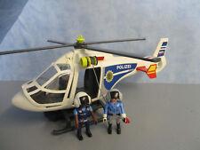6874 Polizei Helikopter LED Suchscheinwerfer zu 6872 5176 Playmobil 1857