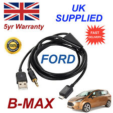 Para Ford BMAX Samsung HTC & LG Sony Nokia Micro Usb Y 3.5mm Aux Audio Cable Negro