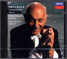 Sir Georg SOLTI: BRUCKNER Symphony No.3 Nowak Ed. DECCA CD 1994 Chicago Sinfonie