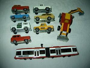 Siku Modellautos Autos Spielzeug Rarität Rest Modelleisenbahn Sammlung Konvolut