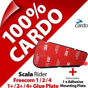 Cardo Scala Rider Replacement Helmet Glue Plate for Freecom 1 2 4 1+ 2+ 4+