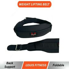 Valeo Weight HeavyLifting Belt Neoprene Gym Fitness Workout Double Support Brace