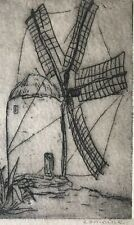Henri LEMOINE 1922-2009 - Etching
