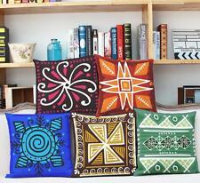 Canvas Geometric Square Decorative Cushions