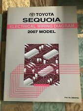 toyota sequoia electrical wiring diagram model service manual 2007 em03p0u