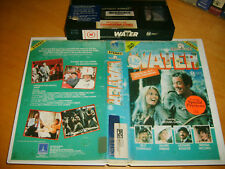 VHS *WATER* 1985 RARE Thorn EMI 1st Issue (Non Barcode) Comedy Adventure Drama!