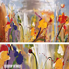 """36W""""x24H"""" BRYONY by DANIEL PHILL - FLORAL SPATULA-STYLE EXPLOSION CANVAS"""