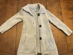 babyGap Gray Sweater Cardigan in Girls 4T