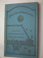 VINTAGE 1952 NC CENTRAL PRISON SYSTEM  BOOKLET! MORE THAN MAKING LICENSE PLATES!