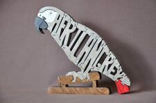 African Grey or Amazon Parrot Bird Wood Toy Puzzle NEW