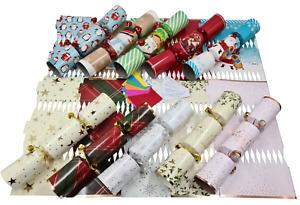 Make Your Own Christmas Cracker kits / Makes 6 Crackers / Hats / Snaps / Jokes