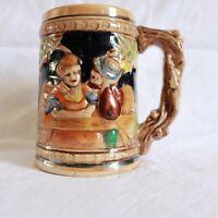 Vintage Ceramic Handcrafted Beer Stein ~ Made in Japan ~ German Style ~  MBC B2