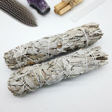 "5"" California White Sage Smudge Stick Wands House Cleansing Negativity Removal"