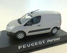 NOREV Peugeot Partner 1/43 Fourgon Tôlé - Aluminium Grey