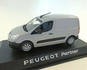 Peugeot Partner, Camionette, Argent Métallisé, NOREV, 1:43