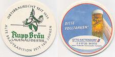 Bierdeckel Brauhaus Rupp Bräu, Lauenau/Deister