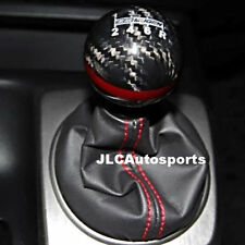 CARBON FIBER Red MUGEN shift knob for Honda CR-Z CIVIC ACCORD S2000 FA5