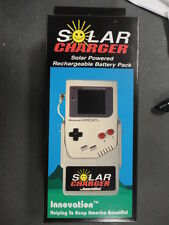 NEW Nintendo Gameboy Solar Charger Rechargeable Battery Pack in Original Box