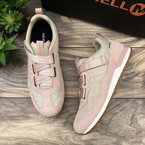 NIB Merrell Alpine Sneaker Cross Retro Style Suede Textile Rose Pink Womens 9M