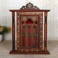 Sheesham Wooden Key Holder-Pillar Design