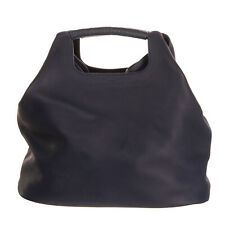RRP €1025 SIMON MILLER Leather Tote Bag Oversized Grainy Slouchy Made in Italy