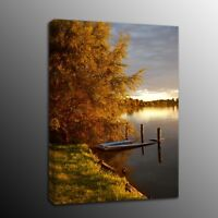 Autumn scenery Canvas Prints Painting Picture Wall Art for Living Room
