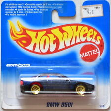 HOT WHEELS 1995 MBW 850I BLUE SHORT CARD W+