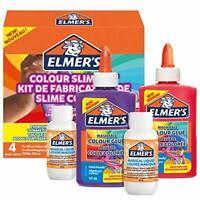 Elmer's Colour Slime Kit | Slime Supplies Include Washable Colour PVA Glue |